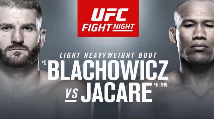 Watch UFC Fight Night 164 featuring Jan Błachowicz vs Ronaldo Souza - UFCSaoPaolo