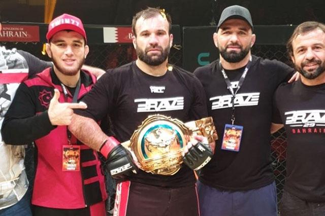 Brave CF 29 Results - Azamat Murzakanov Knocksout Mohammad Fakhreddine to Win the KHK Title -