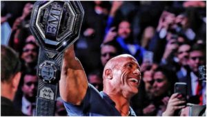 The Rock posts what was going through his head as he made the walk out at MSG with the BMF title on his shoulder! - The Rock