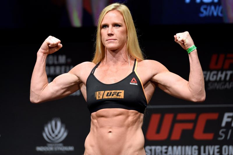 Coach: Holly Holm to return early 2020, hopefully against Aspen Ladd - Holly Holm