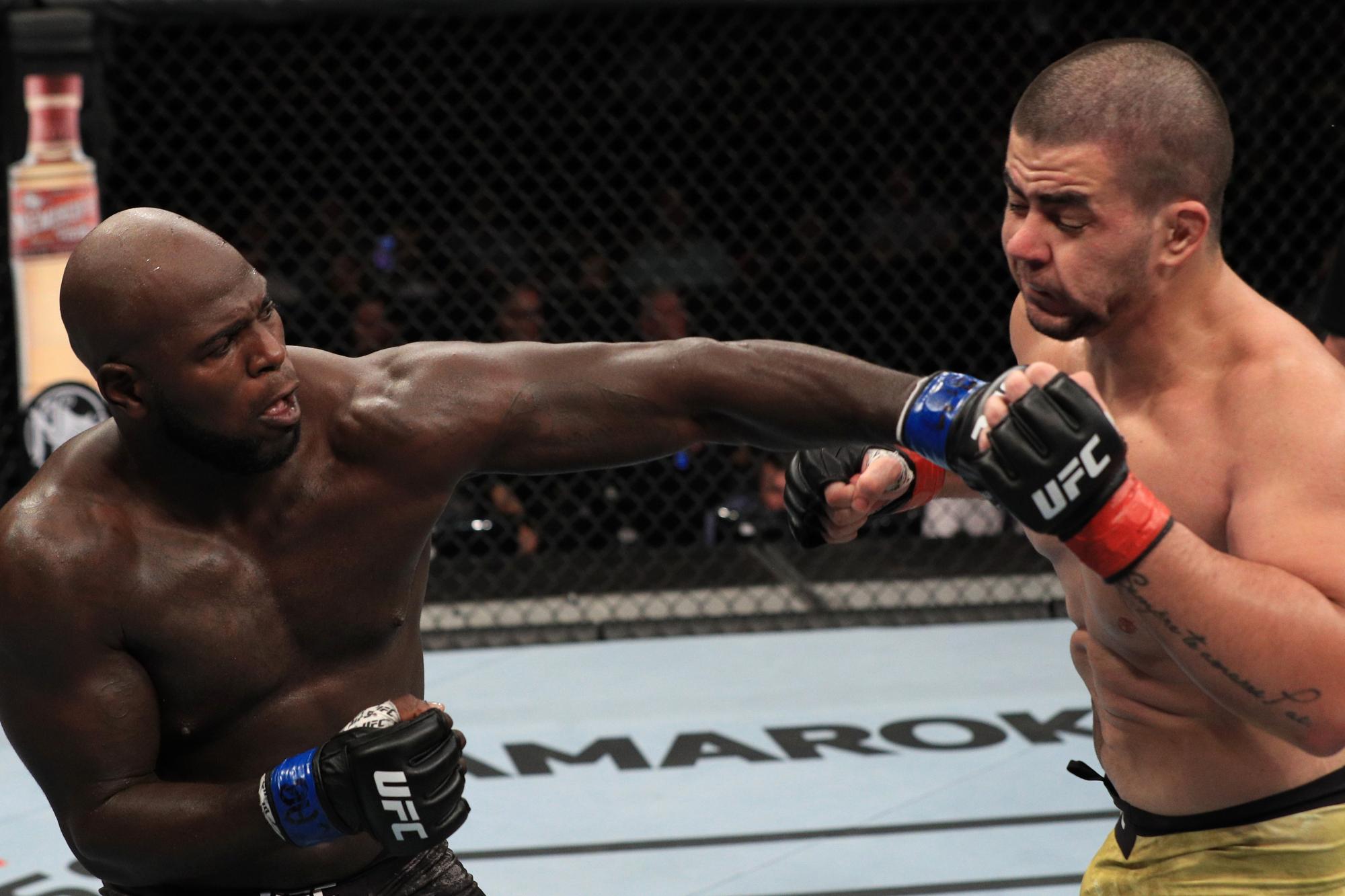 Jairzinho Rozenstruick makes a quick turnaround to fight Alistair Overeem at UFC DC - Jairzinho Rozenstruick
