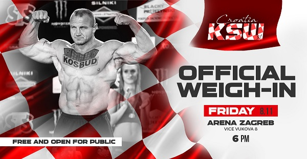 KSW 51 Weigh-In Results - KSW