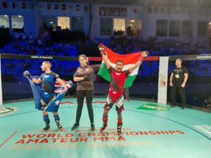 Dinesh Naorem suffers first round loss but Mahboob Khan picks up UD win at World MMA Championships -