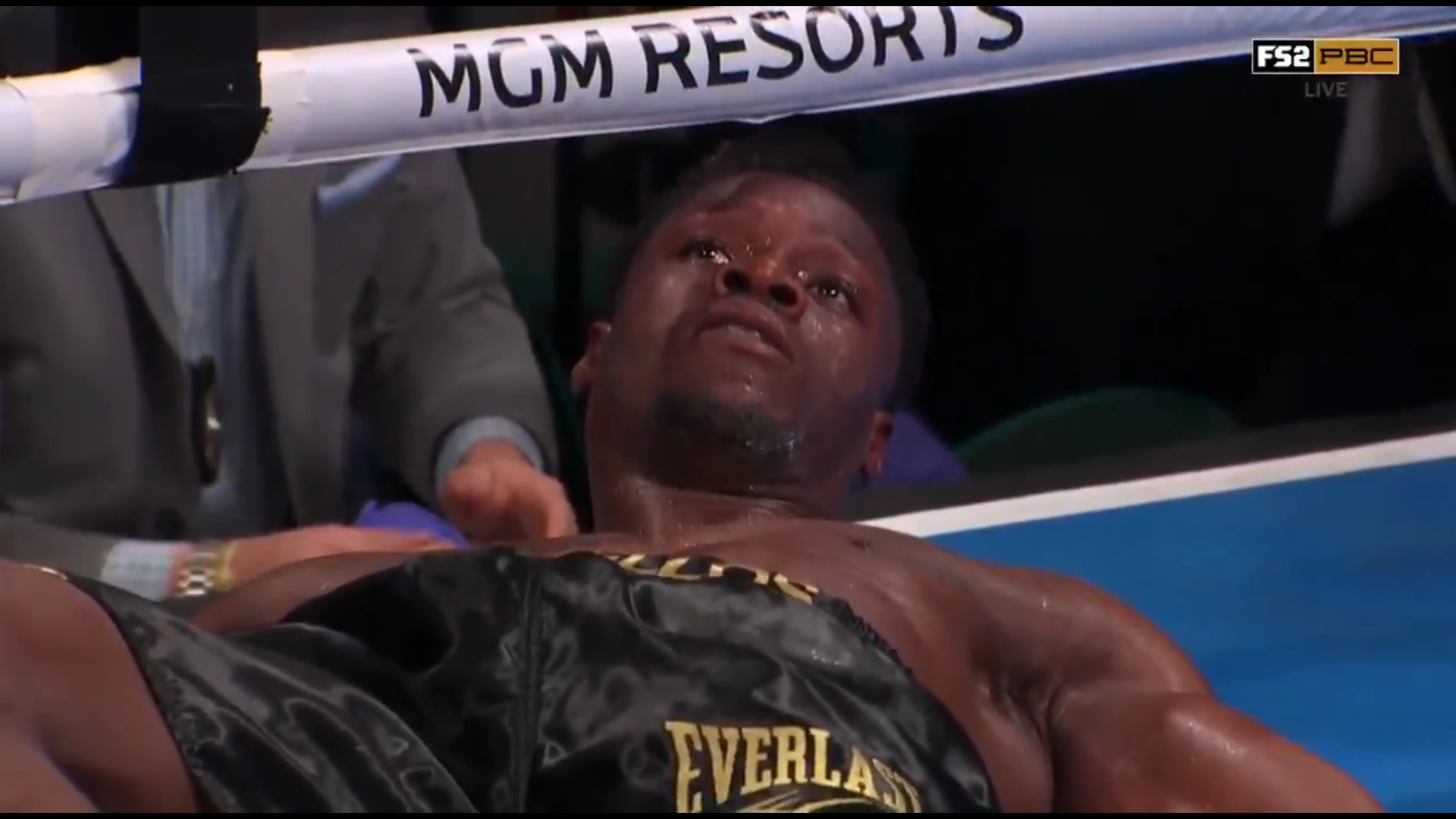 VIDEO: Deontay Wilder's brother Marsellos Wilder gets KNOCKED OUT by MMA fighter - Wilder