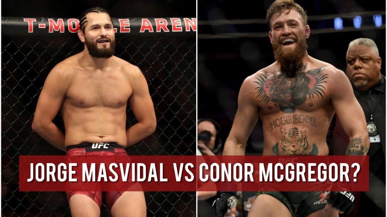 Conor McGregor calls out Jorge Masvidal: 'Can I get a 3 piece and a soda?' - McGregor