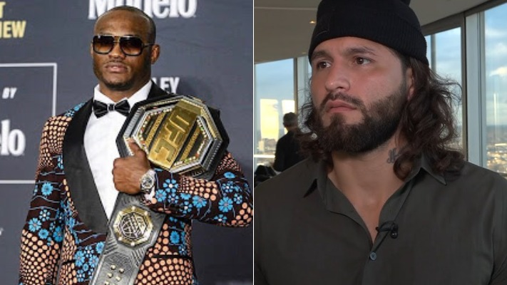 Kamaru Usman very much interested in fighting BMF champion Jorge Masvidal - Usman