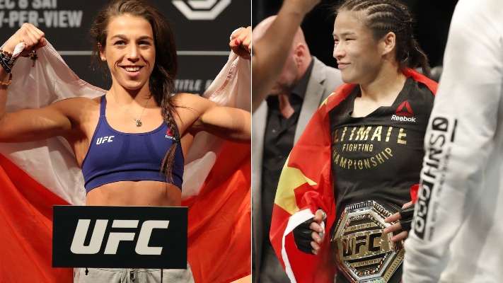 Jessica Andrade doesn't think Joanna Jedrzejczyk can beat Weili Zhang - Zhang