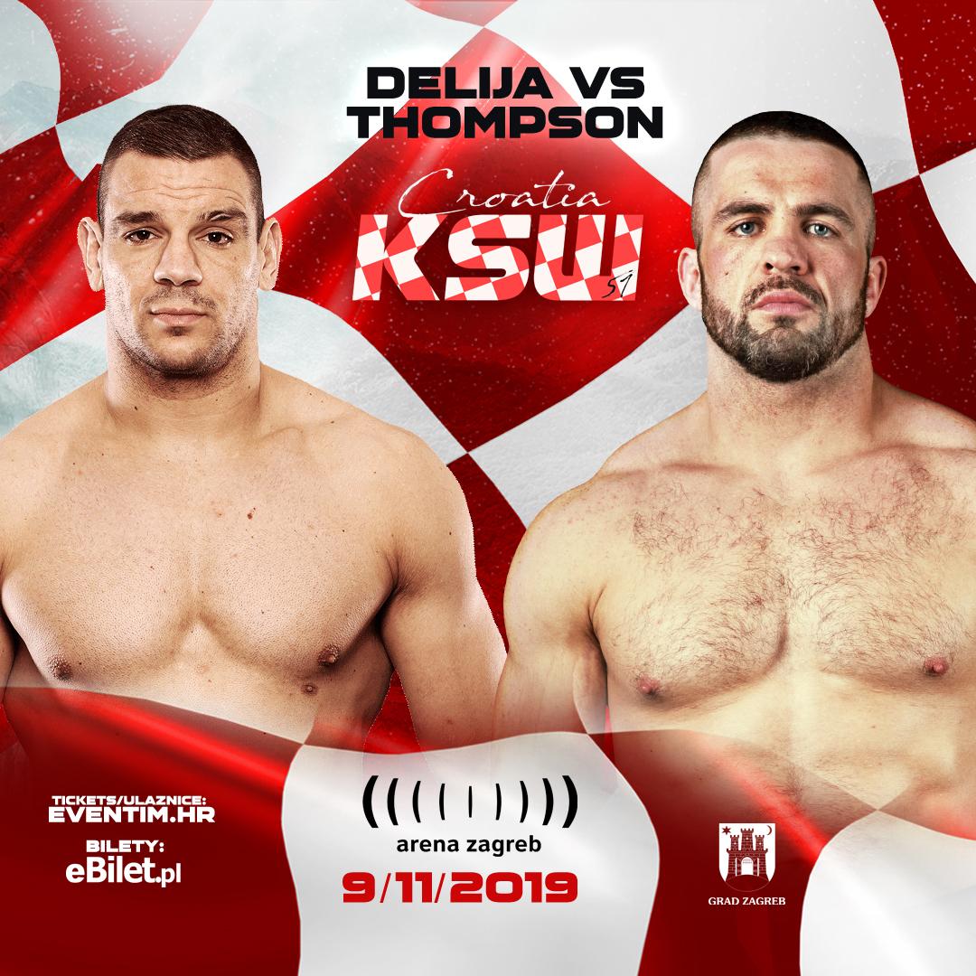 Oli Thompson steps in to face Ante Delija at KSW 51 - UFC