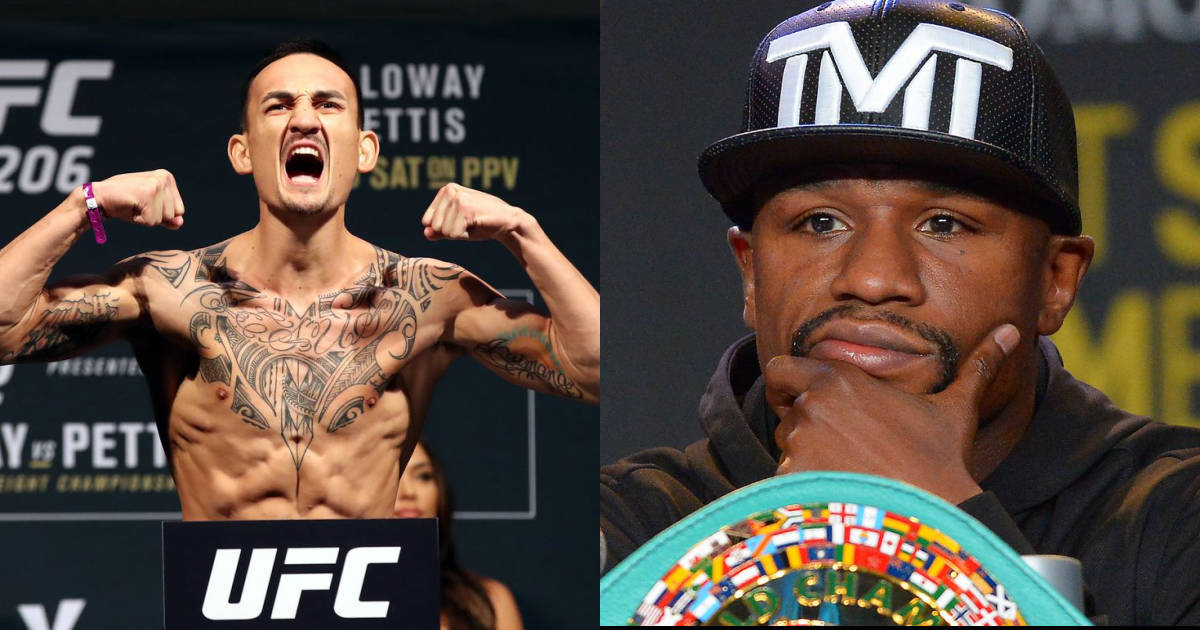 Here is what Max Holloway had to say when asked about boxing Floyd Mayweather! - Max