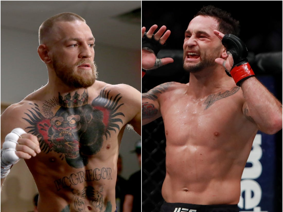 Conor McGregor and the rest of the MMA world cheer Frankie Edgar up after his UFC Busan loss - Frankie