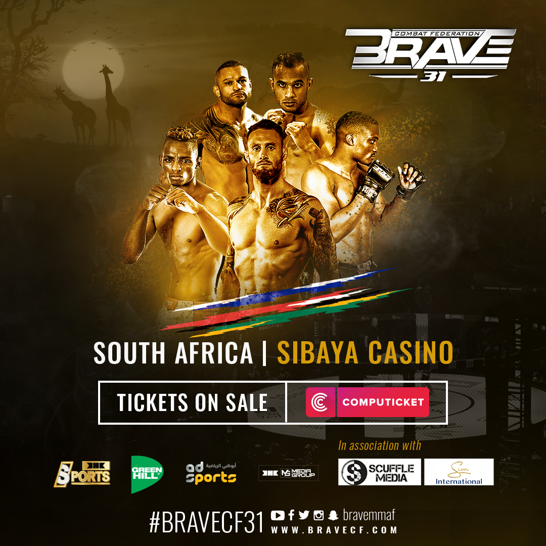 BRAVE CF 31 reaffirms South Africa's booming mixed martial arts scene - BRAVE CF 31