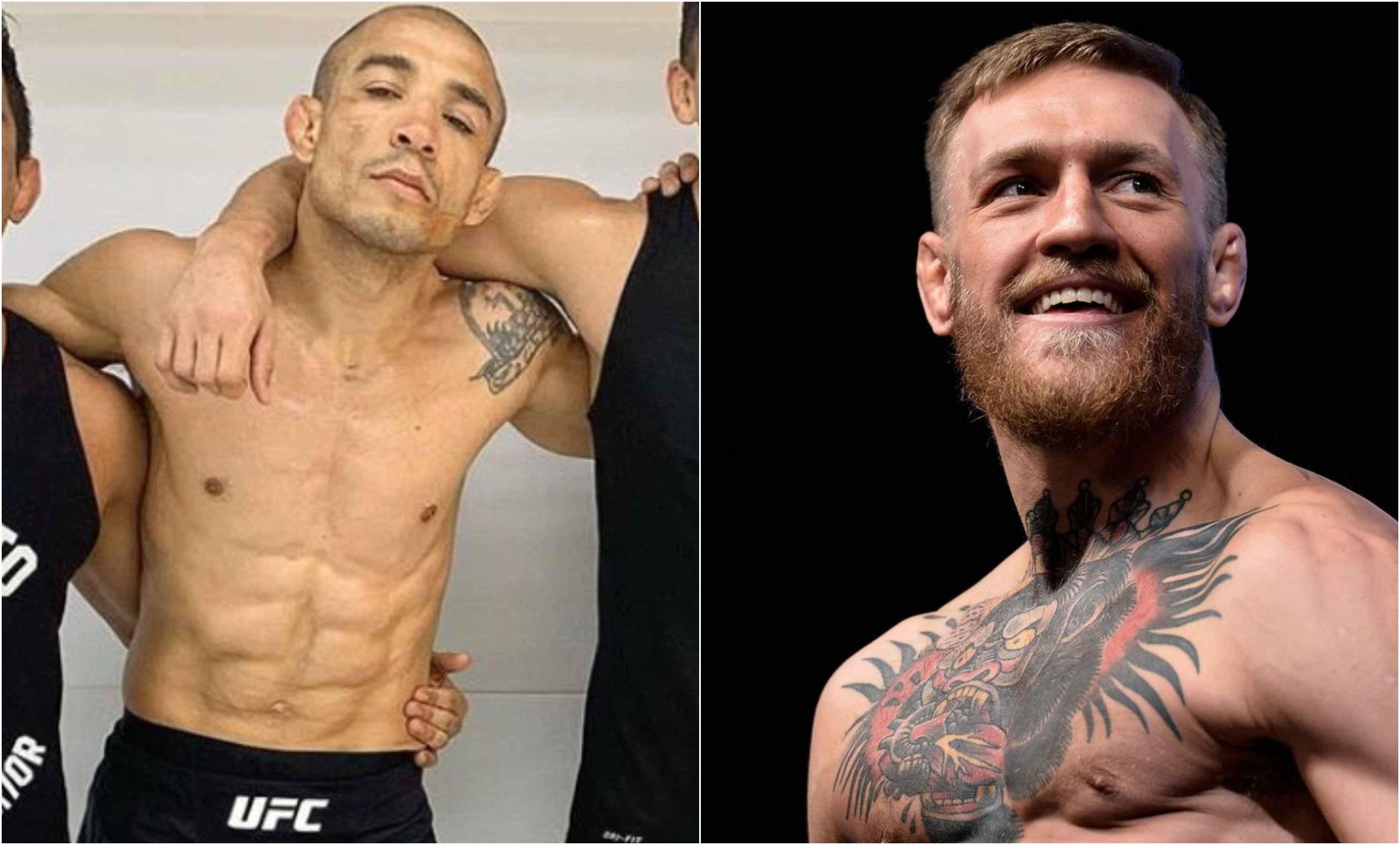 Conor McGregor praises and offers support to Jose Aldo ahead of Bantamweight debut at UFC 245 - Jose
