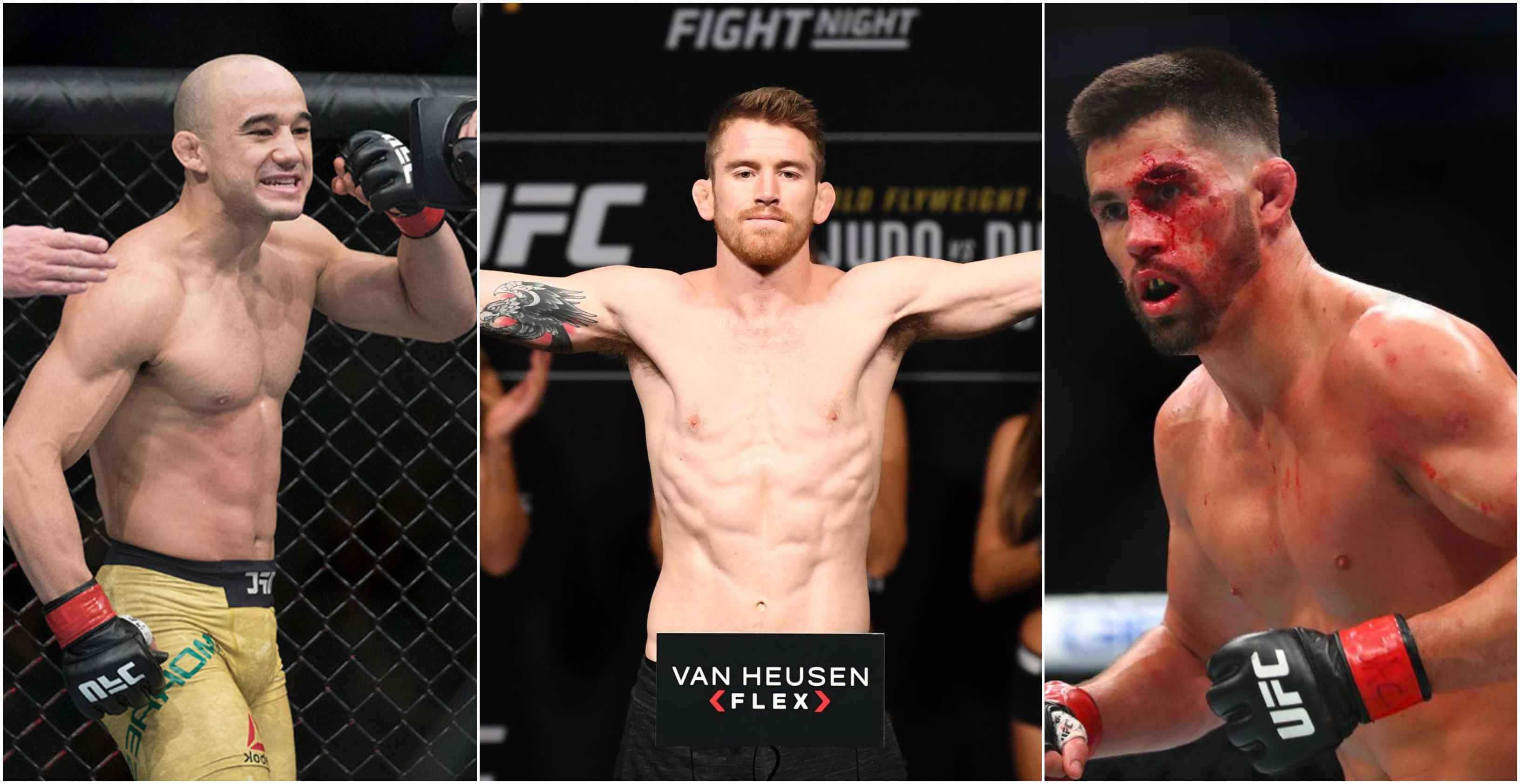 Cory Sandhagen removed from UFC Raleigh; hopes for fight against Marlon Moraes or Dominick Cruz in early 2020 - Cory