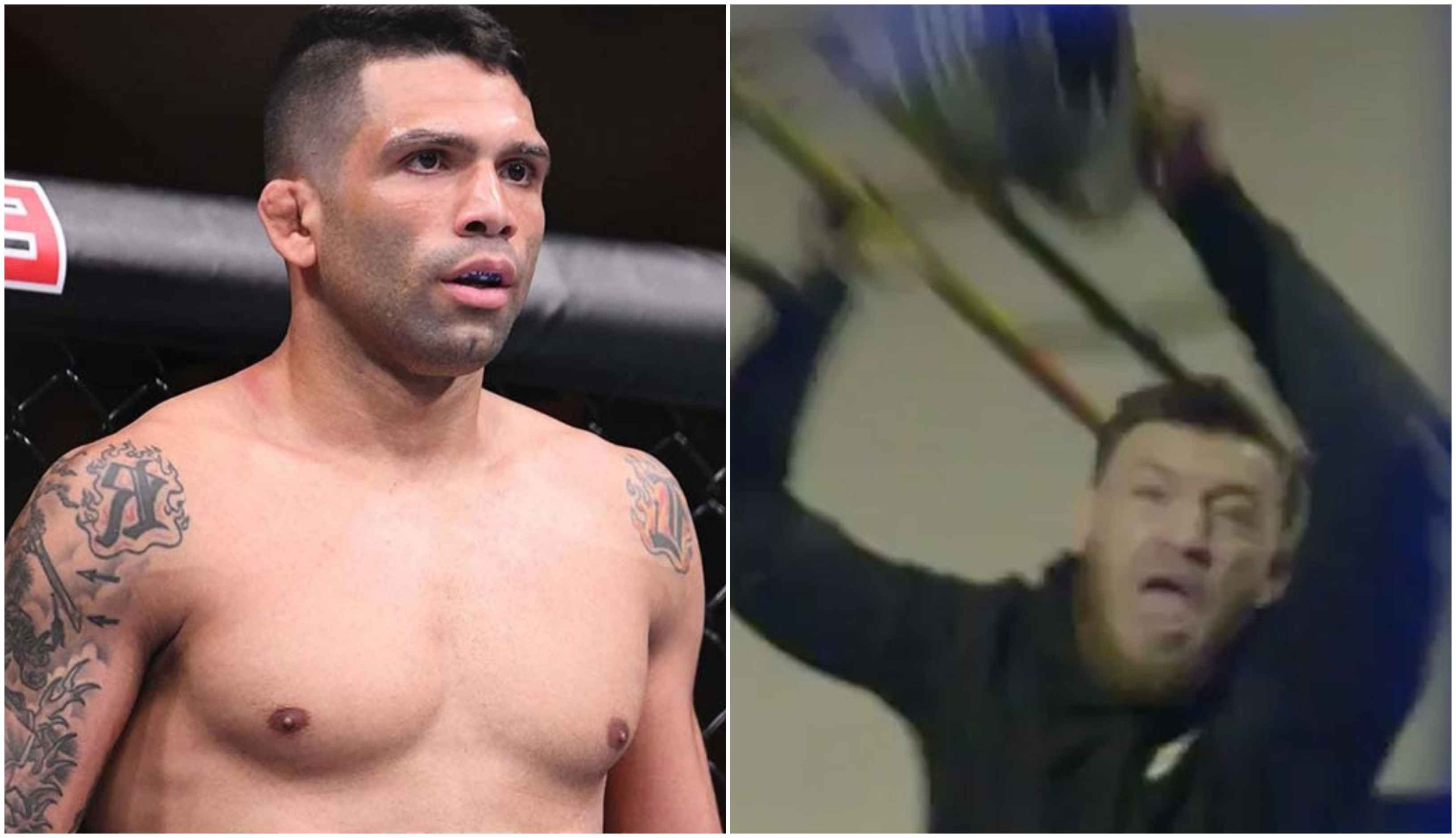 Undefeated Claudio Silva contemplates 'leaving McGregor unconscious in the streets' to attract UFC's attention - Claudio