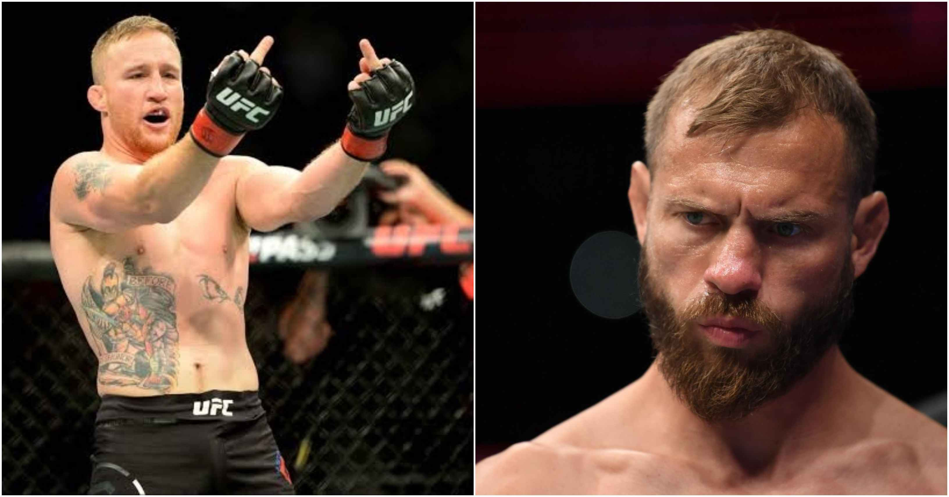 Donald Cerrone explains why Justin Gaethje is getting overlooked for a LW title shot - Donald