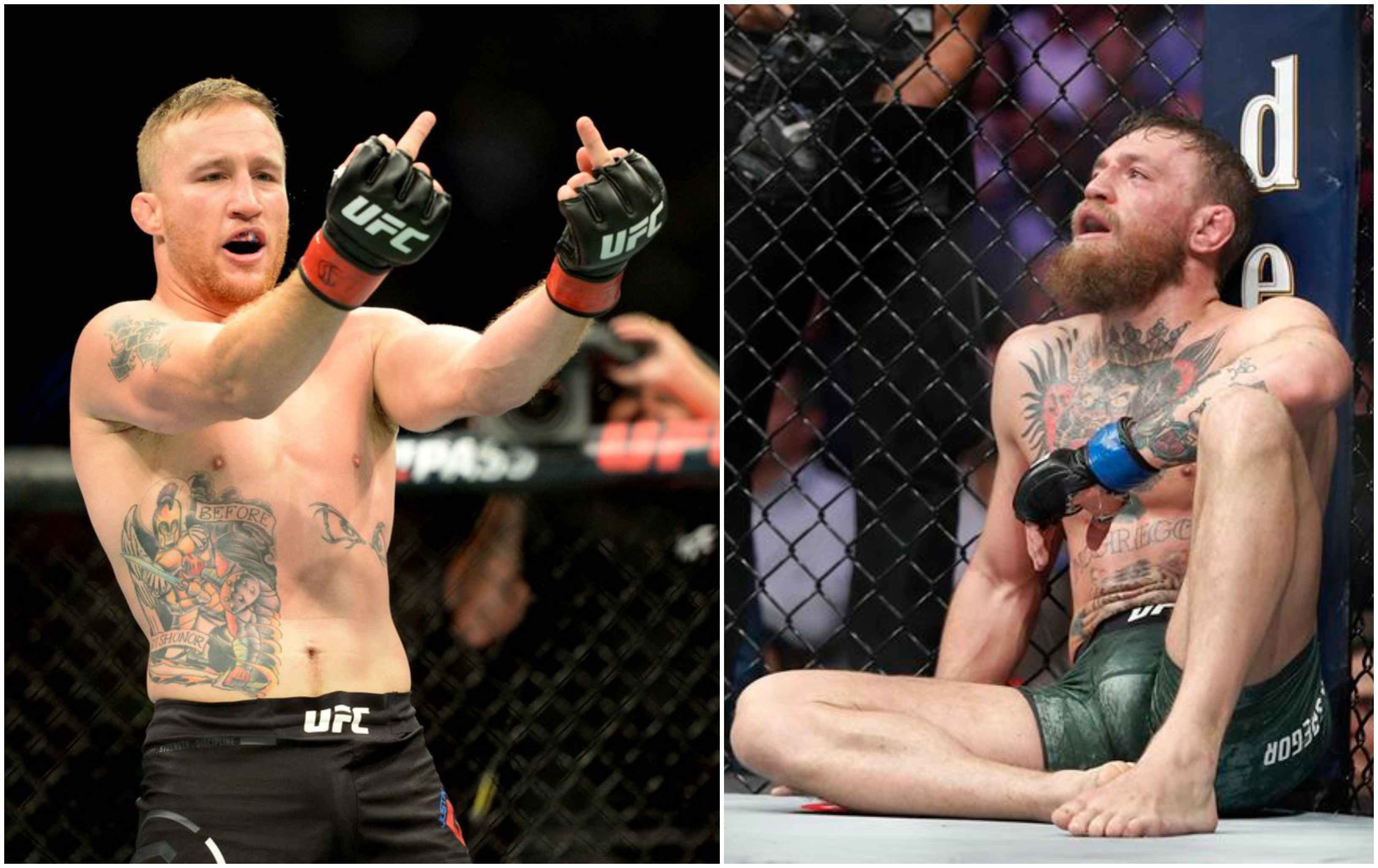 Justice served: Justin Gaethje moves above Conor McGregor in latest UFC LW rankings - McGregor
