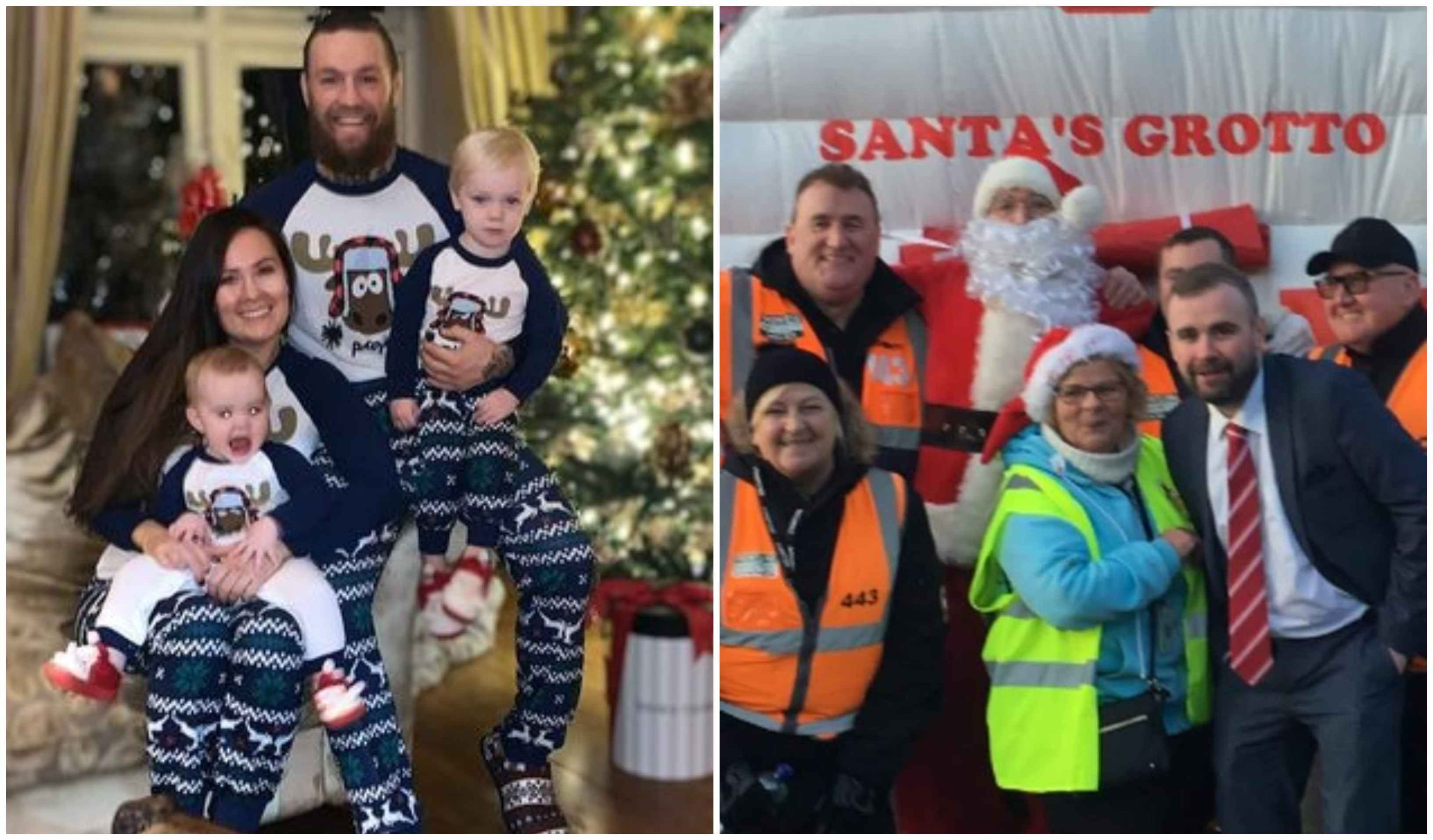Conor McGregor and partner Dee Devlin donate $27,000 worth of toy vouchers to children for X'mas! - cONOR