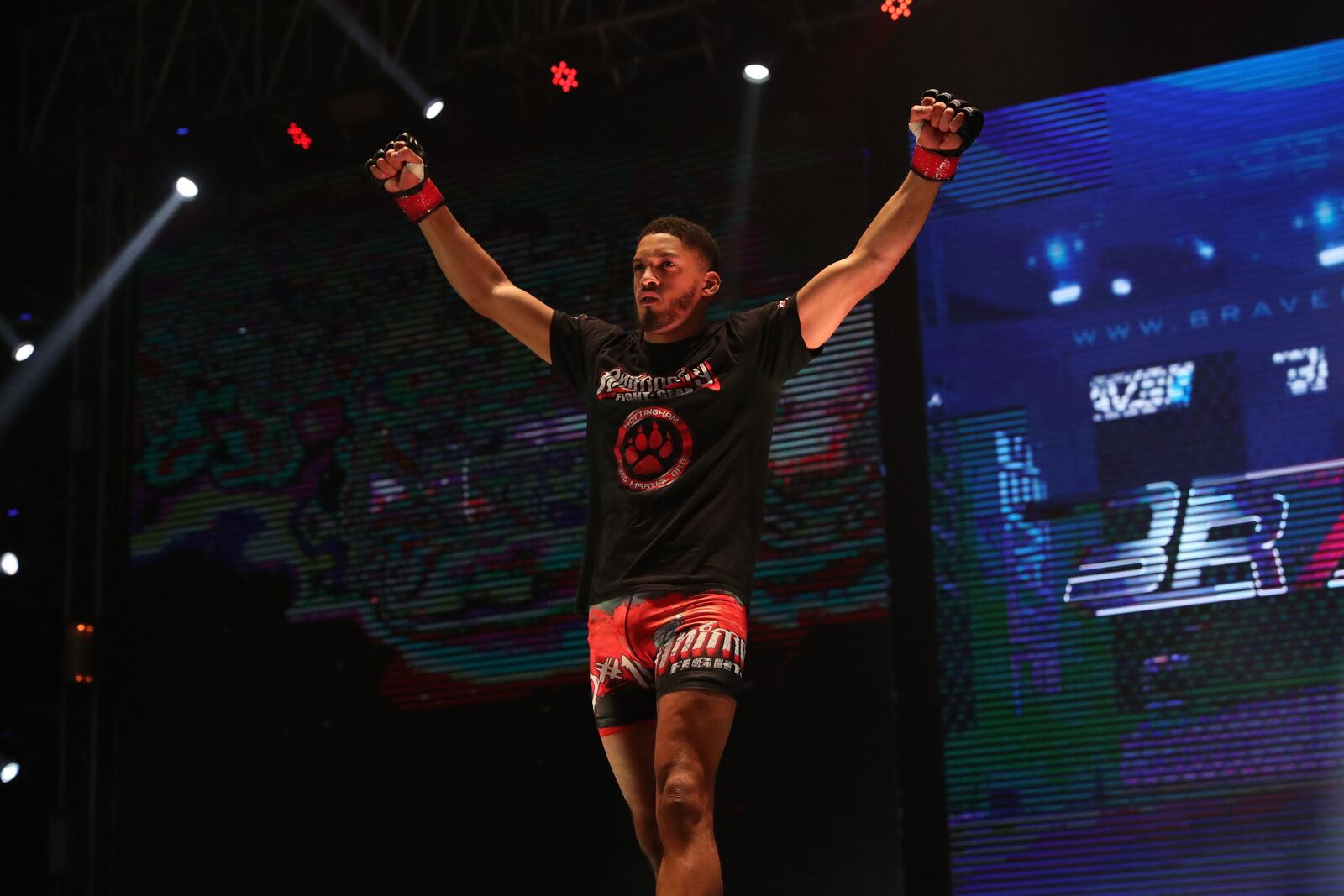 Carl Booth ready to climb back to the top of BRAVE CF's Welterweight division -