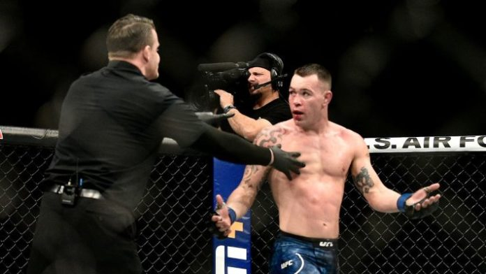 Marc Goddard replies in a classy manner after Colby Covington rips into his officiating in Kamaru Usman fight - Usman