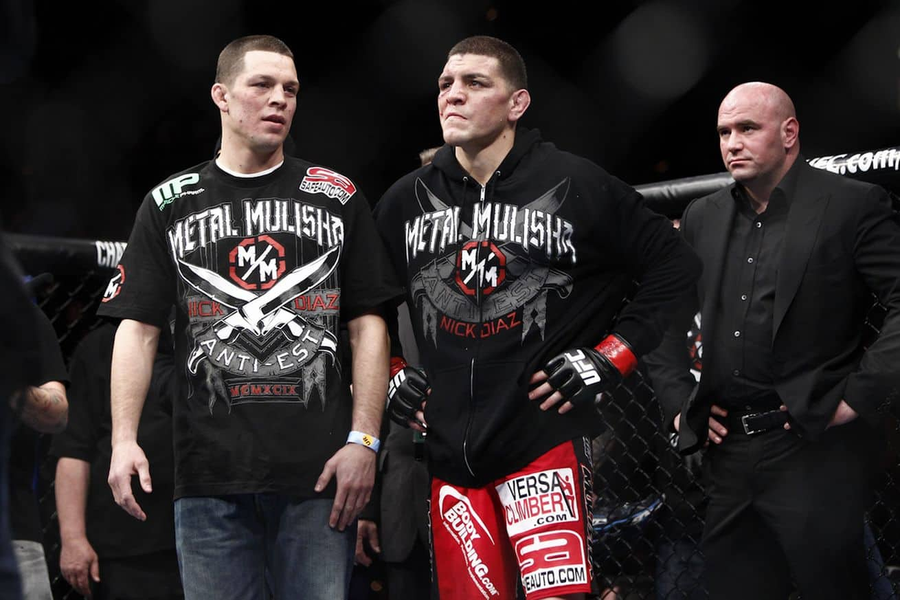 Dana White confirms UFC contact with Nick Diaz but claims Stockton native will not fight - Dana