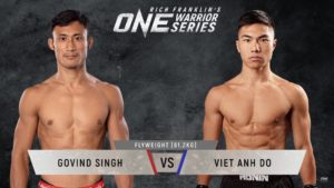 VIDEO: Viet Anh Do knocks out Govind Ale in the first round at ONE Championship: Warrior Series 9 - Viet