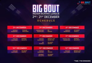 Big Bout Boxing Legue 2019 schedule, teams, where to watch, live streaming, format - bout