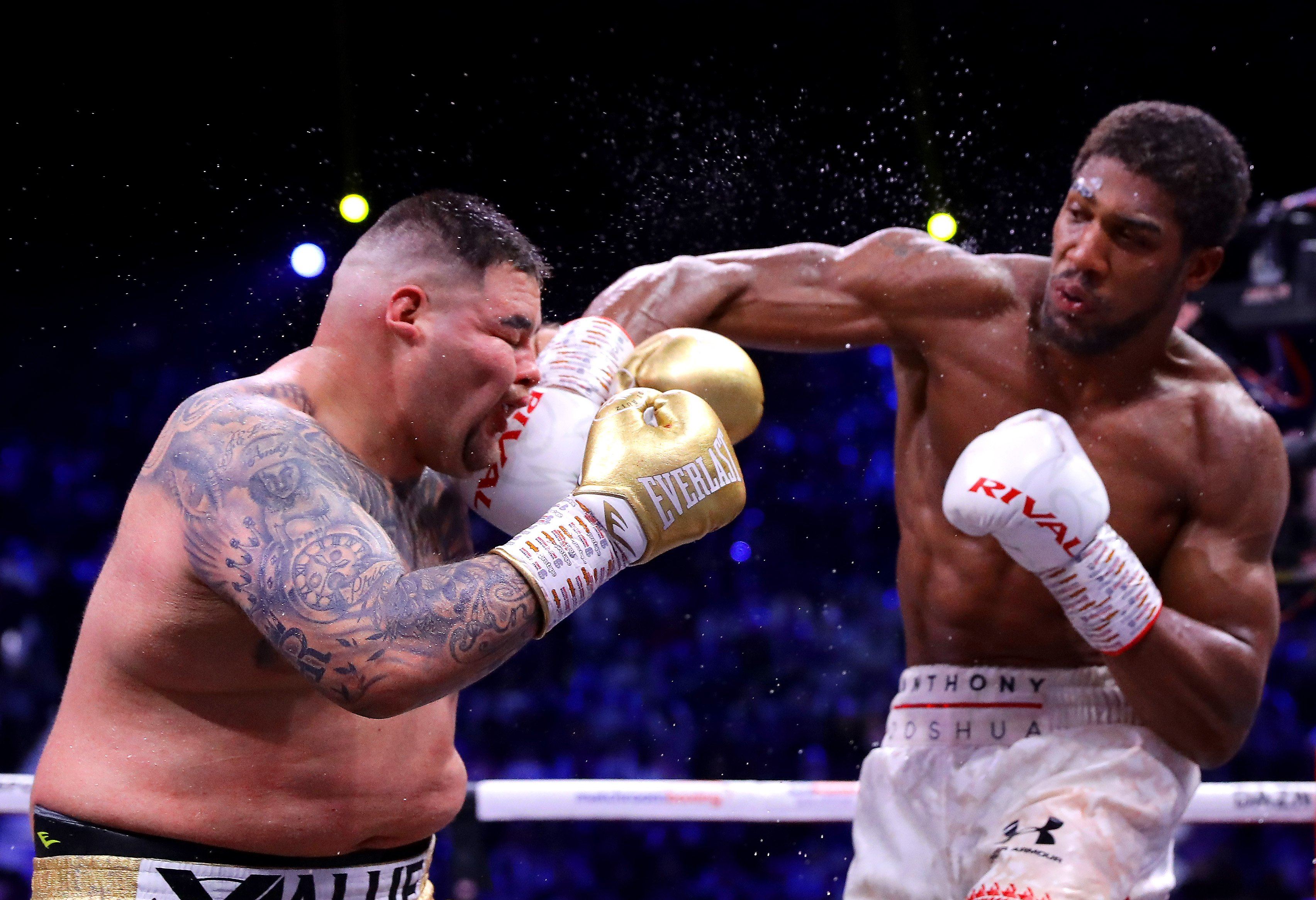 Anthony Joshua defeats Andy Ruiz Jr in Saudi Arabia - Joshua