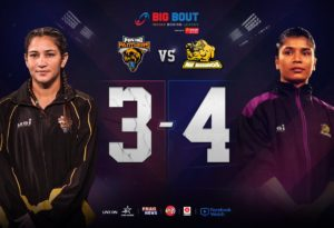 Big Bout League: North East Rhinos beat Punjab Panthers 4-3 to claim second spot - Rhinos