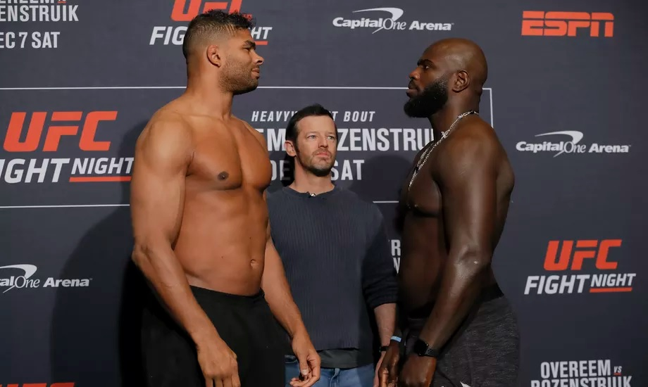 UFC on ESPN 7 Results 'Overeem vs. Rozenstruik' - LIVE Updates & Results -