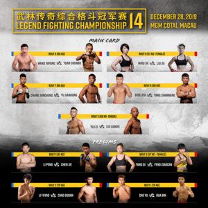 Legend Fighting Championship: Yuan Chunbo defeats Wang Yayong via split decision - Legend