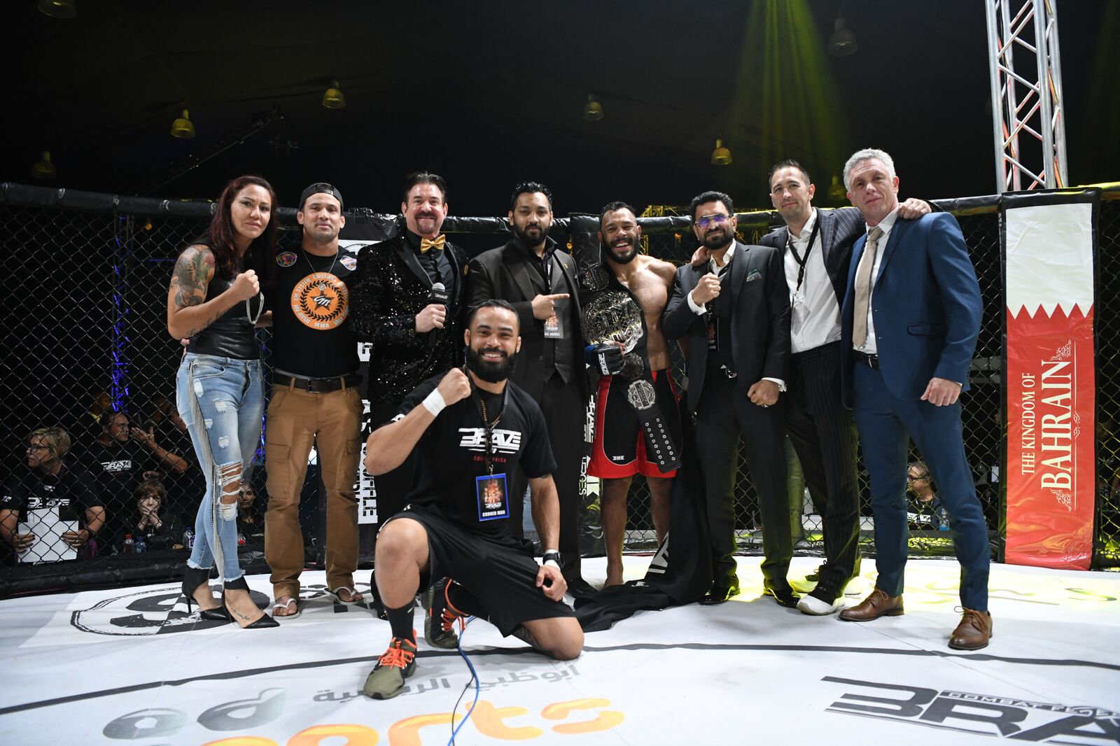 """Daniel """"Gaucho"""" brutalizes Chad Hanekom, becomes first-ever BRAVE CF Middleweight champion -"""