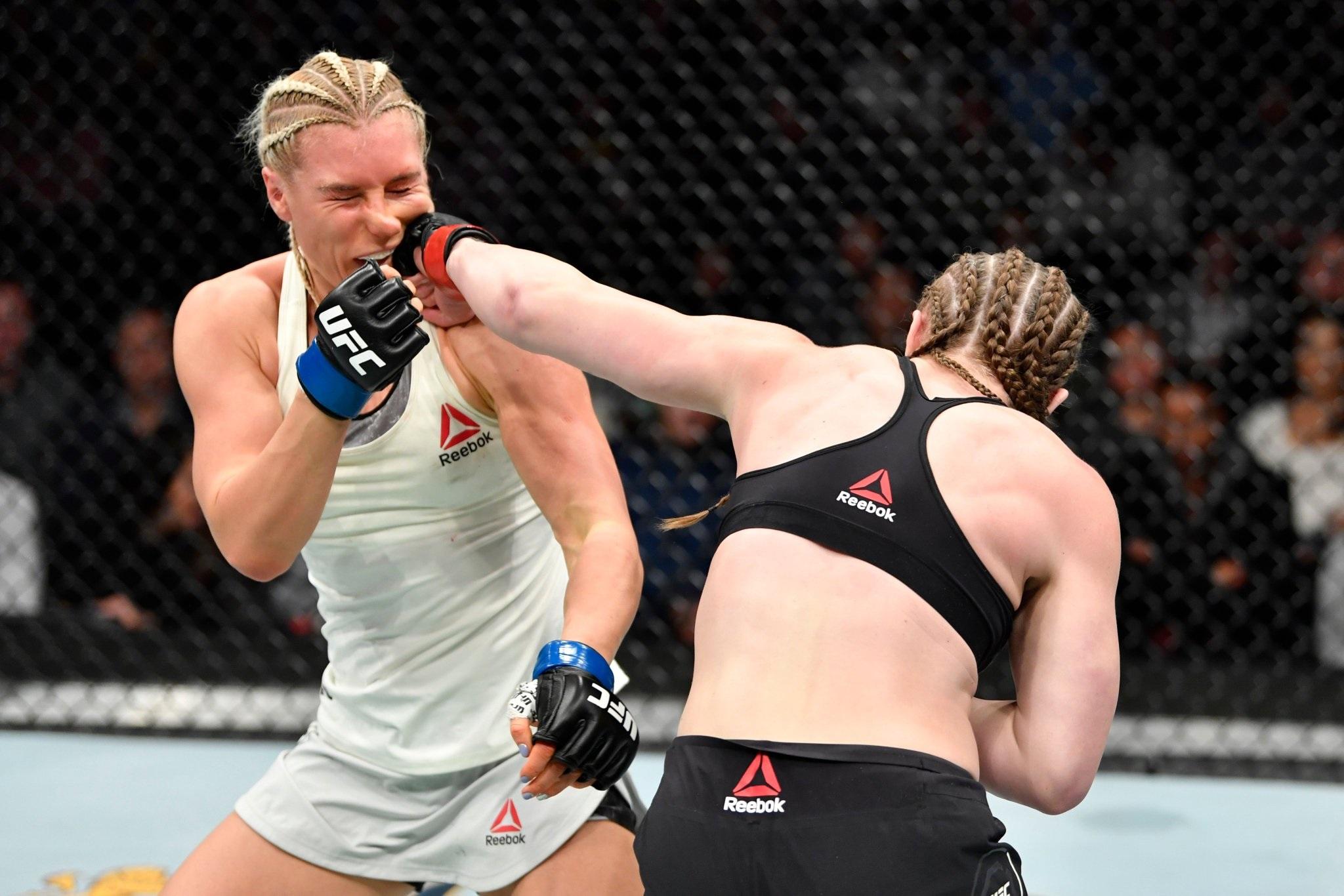 UFC on ESPN 7 Results - Aspen Ladd Stops Yana Kunitskaya With Brutal Third Round TKO -
