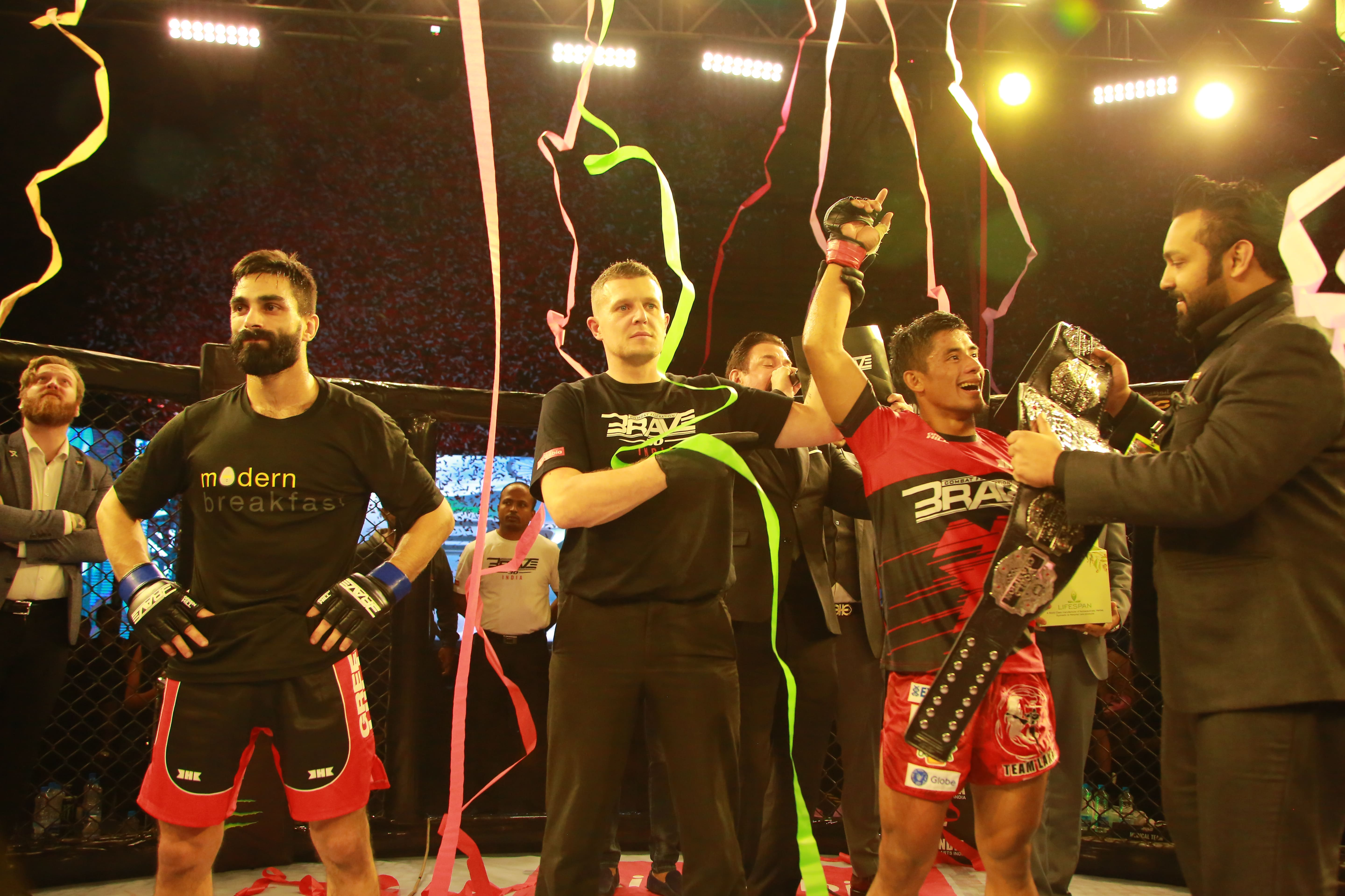 Champion Stephen Loman vows to extend BRAVE CF title defense record - BRAVE CF 30