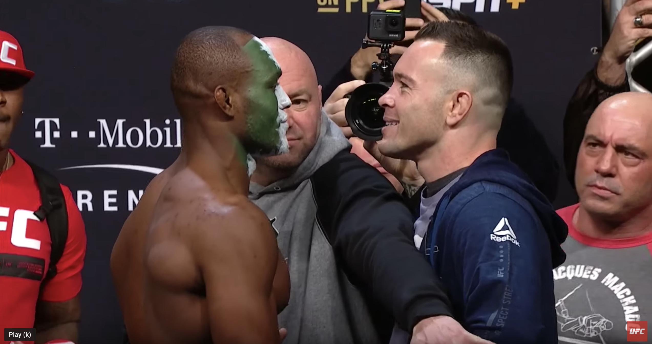 Watch UFC 245: Weigh-in - Weigh in