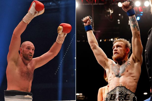 Tyson Fury confirms he will train for MMA with 'fantastic fighting man' Conor McGregor - Tyson