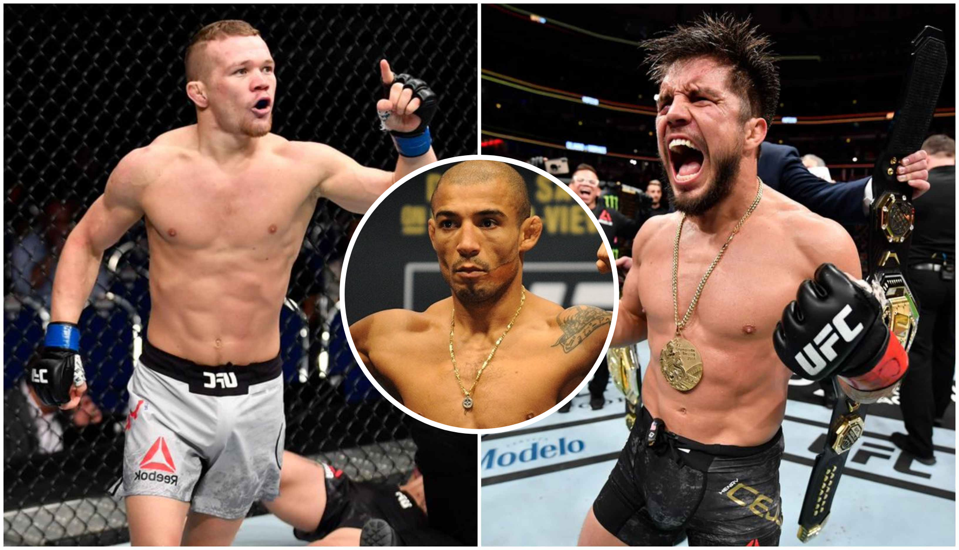 Petr Yan calls out Henry Cejudo but the UFC BW Champ reiterates his desire to fight Jose Aldo - Yan