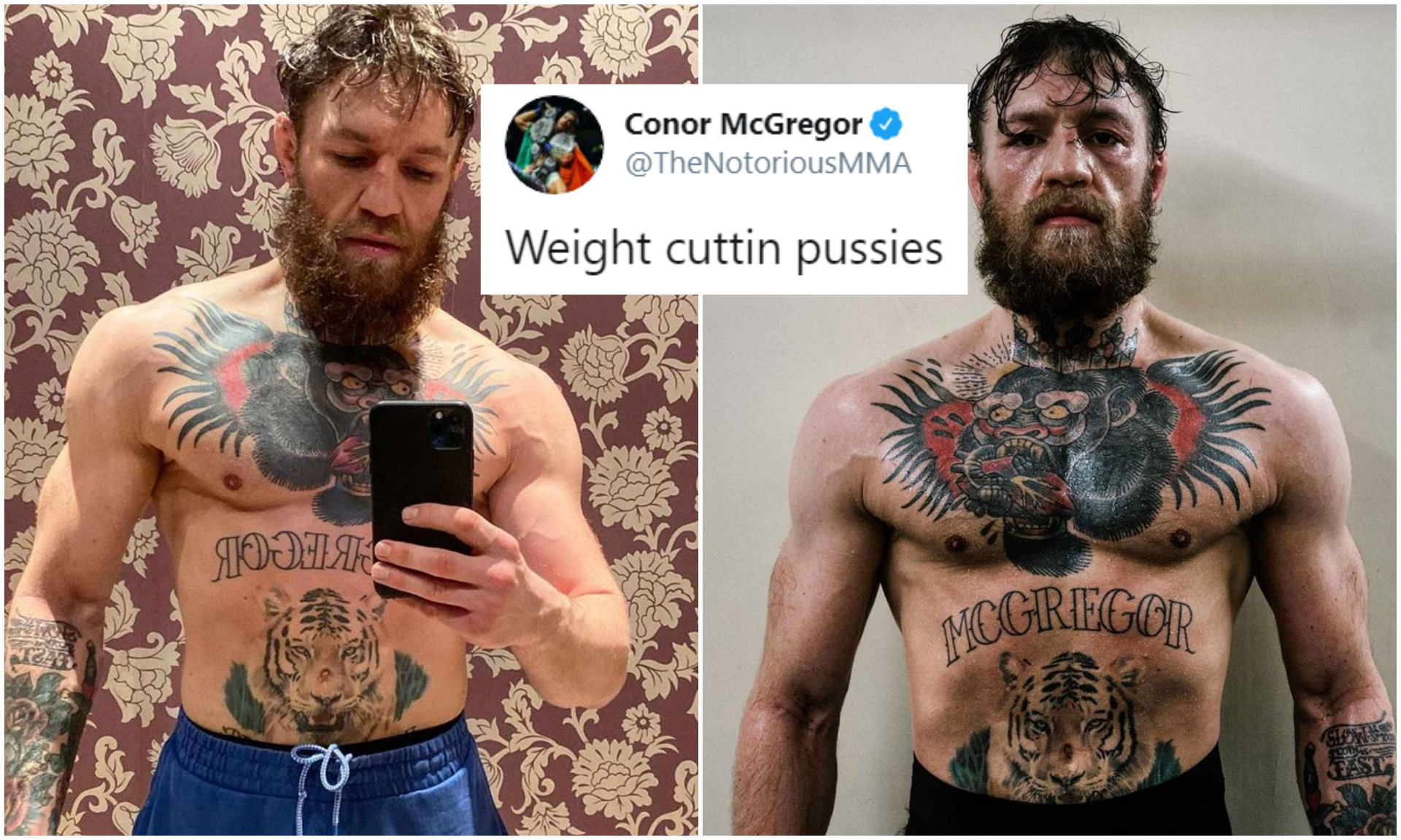 Conor McGregor trolls fighters who cut massive weight to take on smaller fighters; looks big ahead of Cerrone clash - Conor