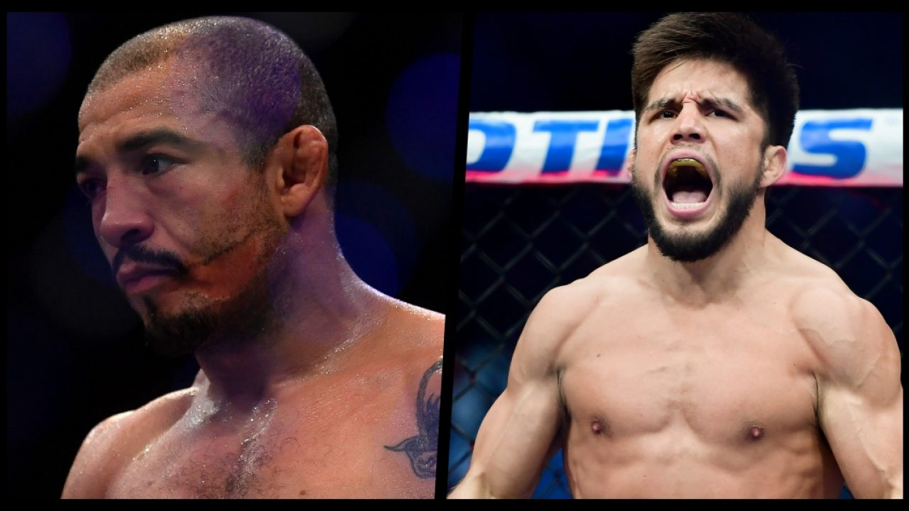 Henry Cejudo rolls up in Brazil and tells Jose Aldo to 'bend the knee'! - Henry
