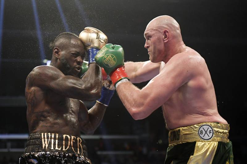 Tyson Fury vs Deontay Wilder rematch set for Feb 22 in Las Vegas - Tyson
