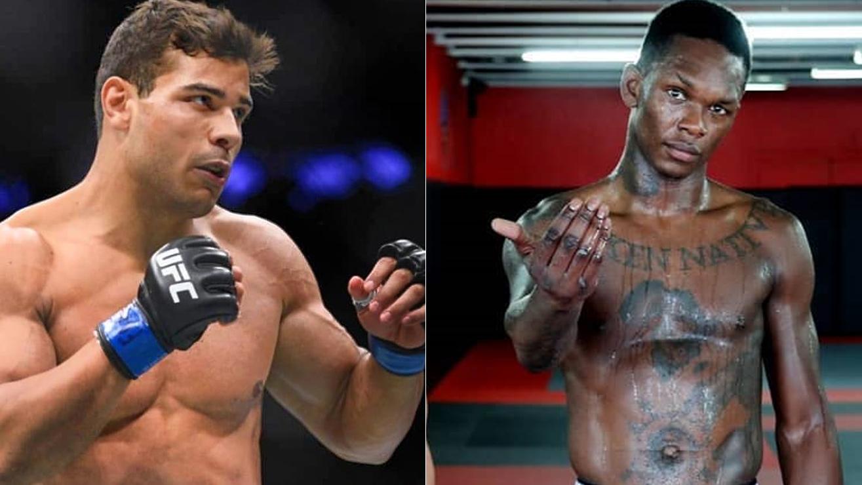 Israel Adesanya predicts Paulo Costa fight would go similar to McGregor - Aldo - Israel