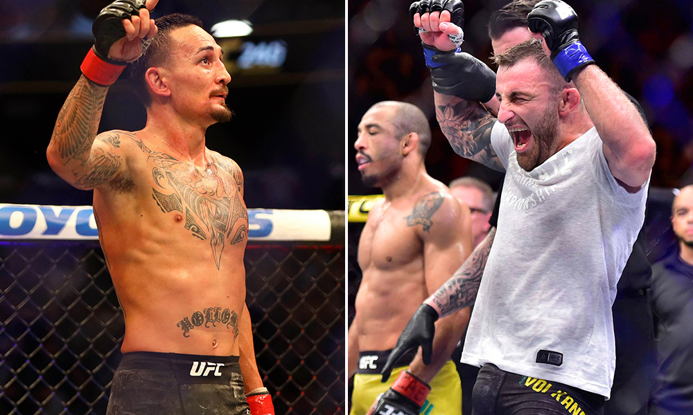 Max Holloway has the classiest message for Alex Volkanovski after losing to him at UFC 245 - Max