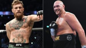 Conor McGregor and Tyson Fury
