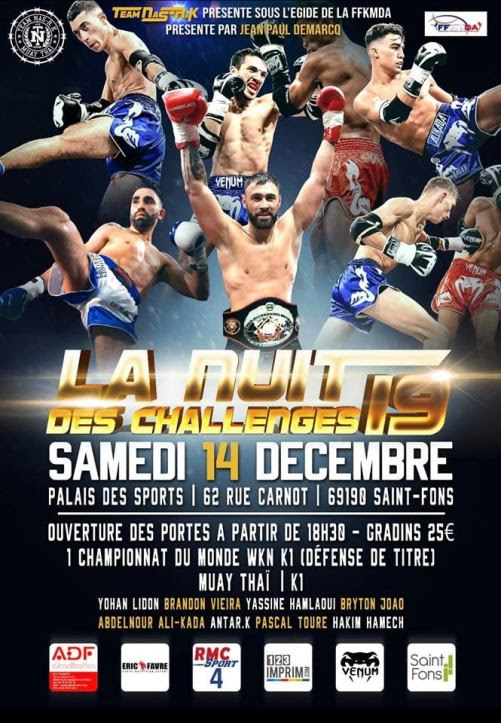 Yohan Lidon defends WKN super middleweight title against Giorgi Kankava this Saturday in Saint-Fons, France -