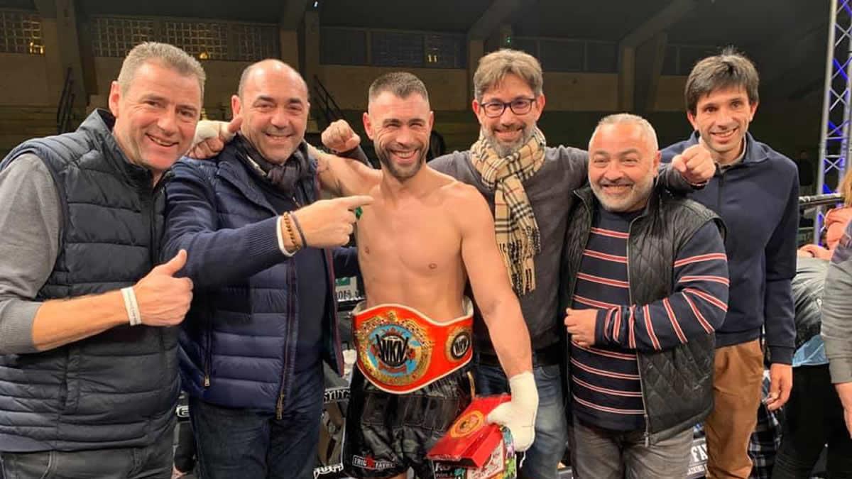 Yohan Lidon makes the 5th successful WKN super middleweight title defense - WKN Super
