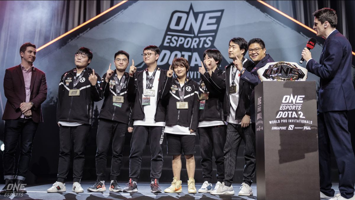 VICI GAMING DEFEATS EVIL GENIUSES 3-0 IN BEST OF FIVE SERIES TO WIN THE FIRST  ONE ESPORTS DOTA 2 SINGAPORE WORLD PRO INVITATIONAL - ONE