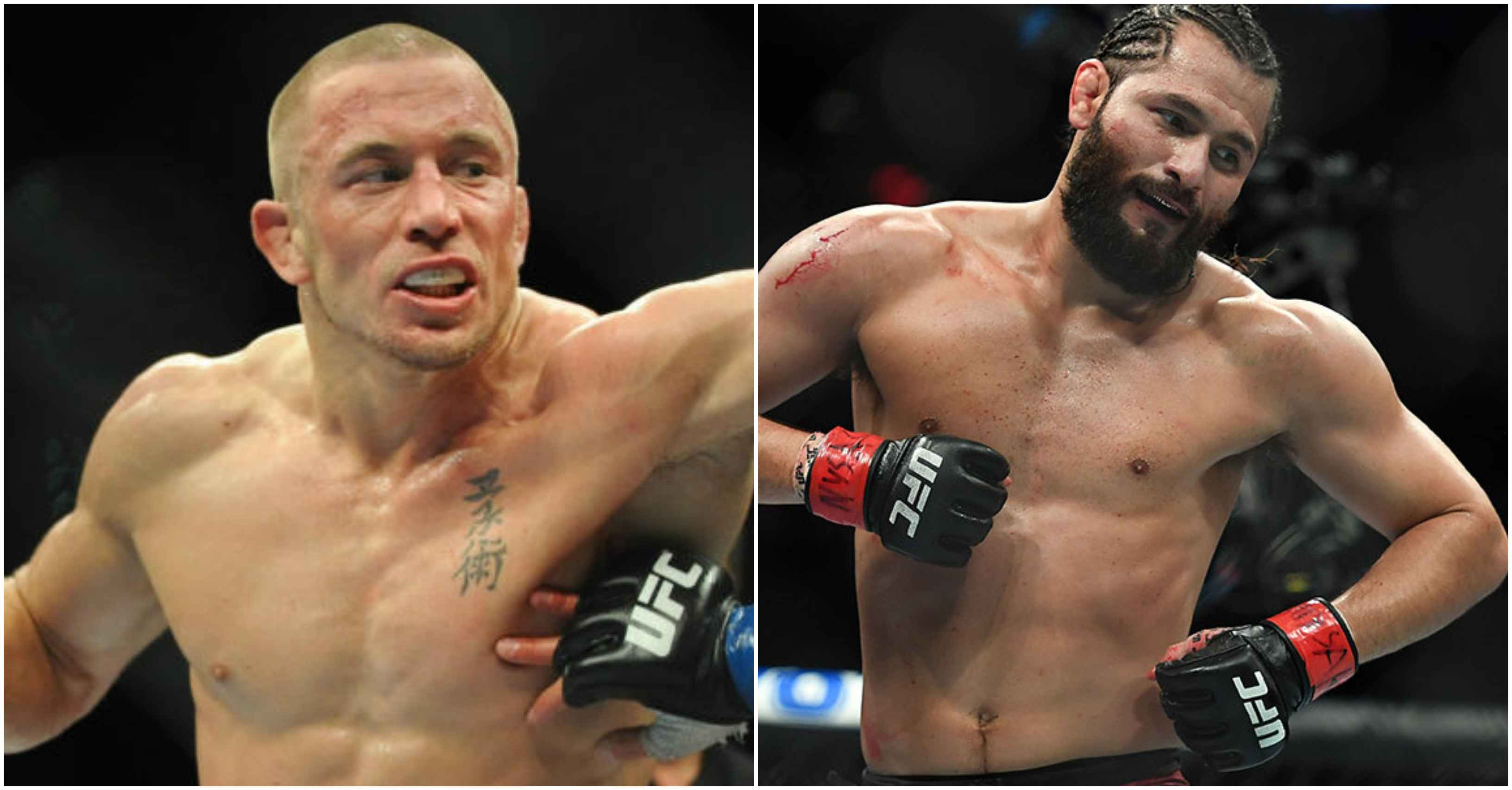 Jorge Masvidal calls GSP a 'f*****g animal' but still wants to break his face - Jorge