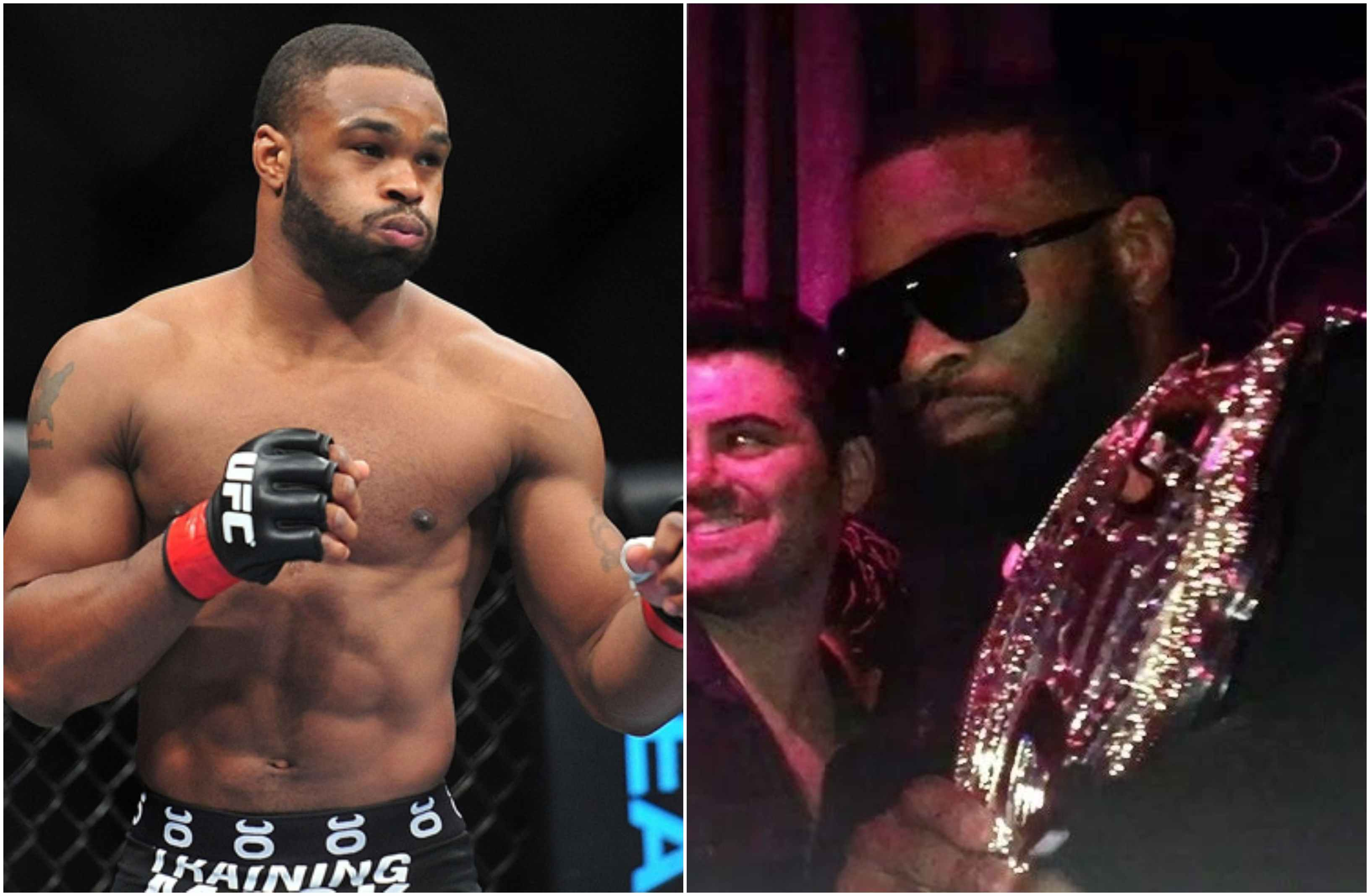 Tyron Woodley reveals he bought 7 cars, 2 houses and blinged out when he was UFC Champ - Tyron