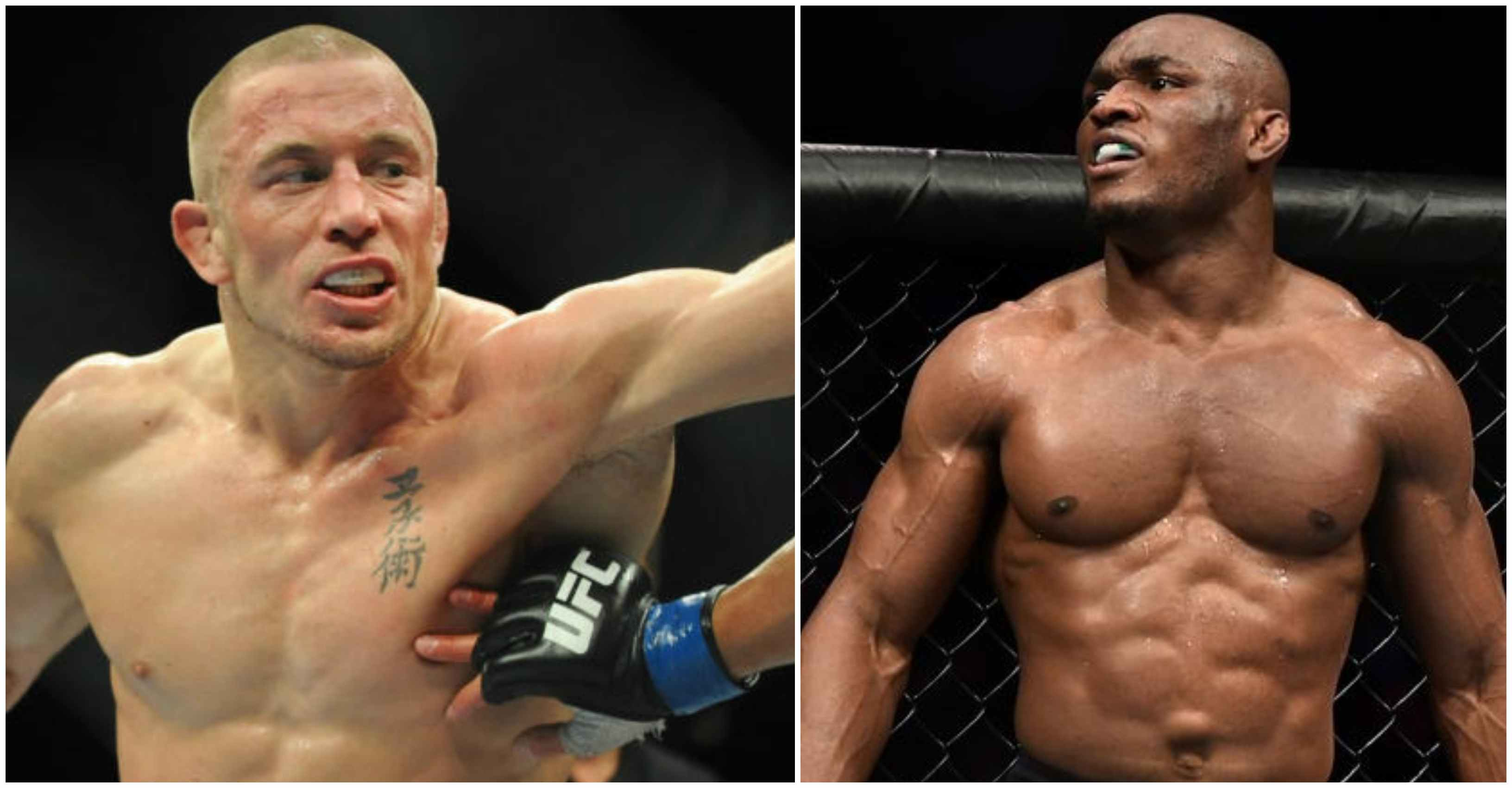 Kamaru Usman wants to break Welterweight win record by beating current record holder GSP - Kamaru