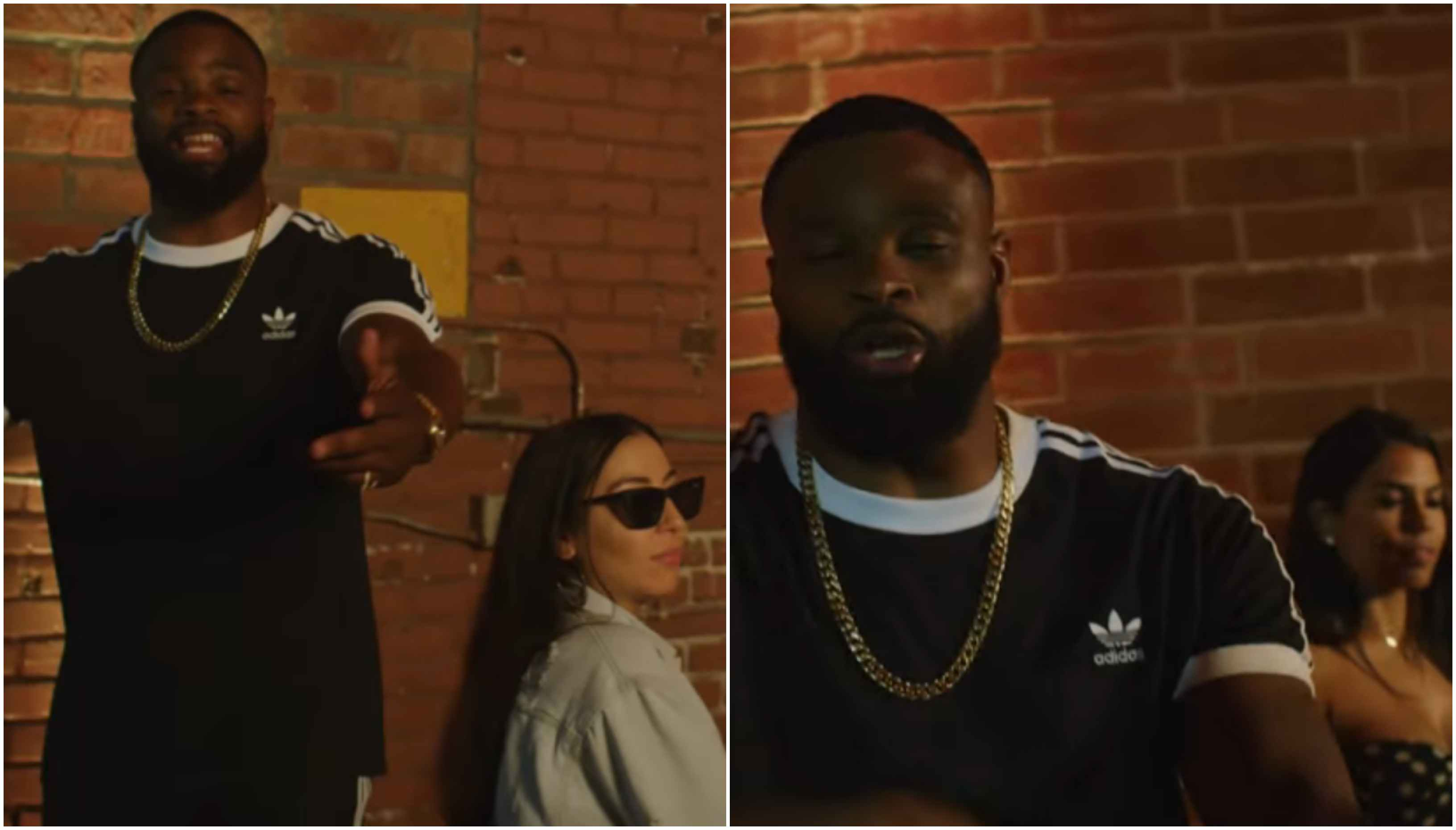 Watch: Tyron Woodley's latest rap single 'Dead Ass' is a scorching track! - Woodley