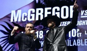 Conor McGregor and Donald Cerrone PETA